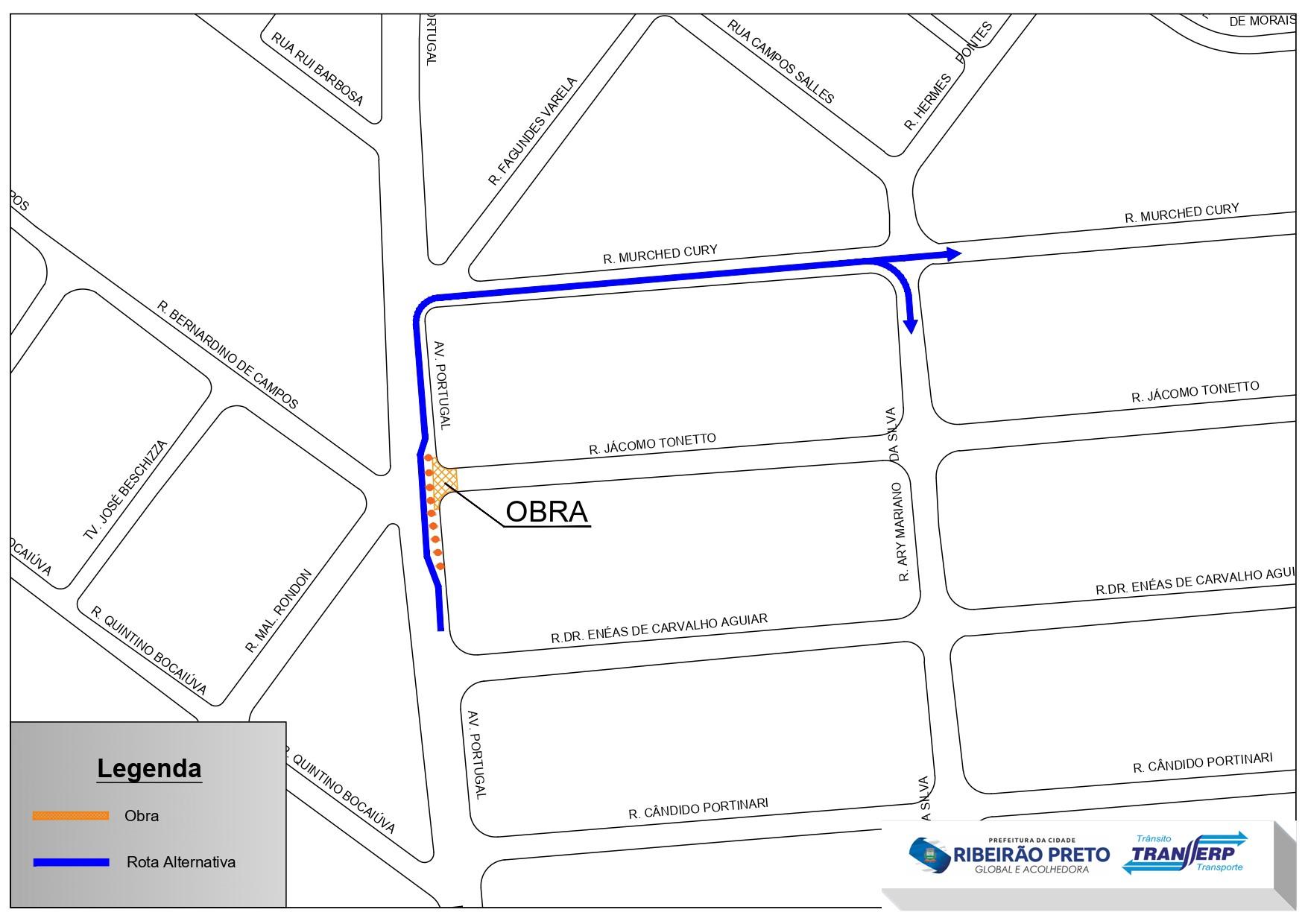 Trecho de rua na Vila Seixas é interditado nesta sexta-feira (11) em Ribeirão Preto, SP