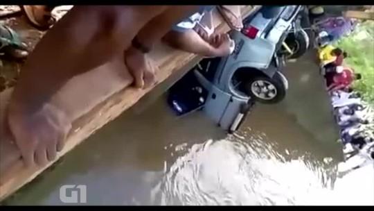 'Estamos tentando voltar a rotina', diz irmão do motorista de carro que caiu em riacho no Piauí