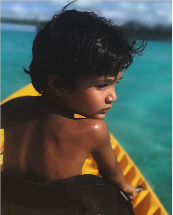 O filho caçula da atriz Halle Berry (Foto: Instagram)