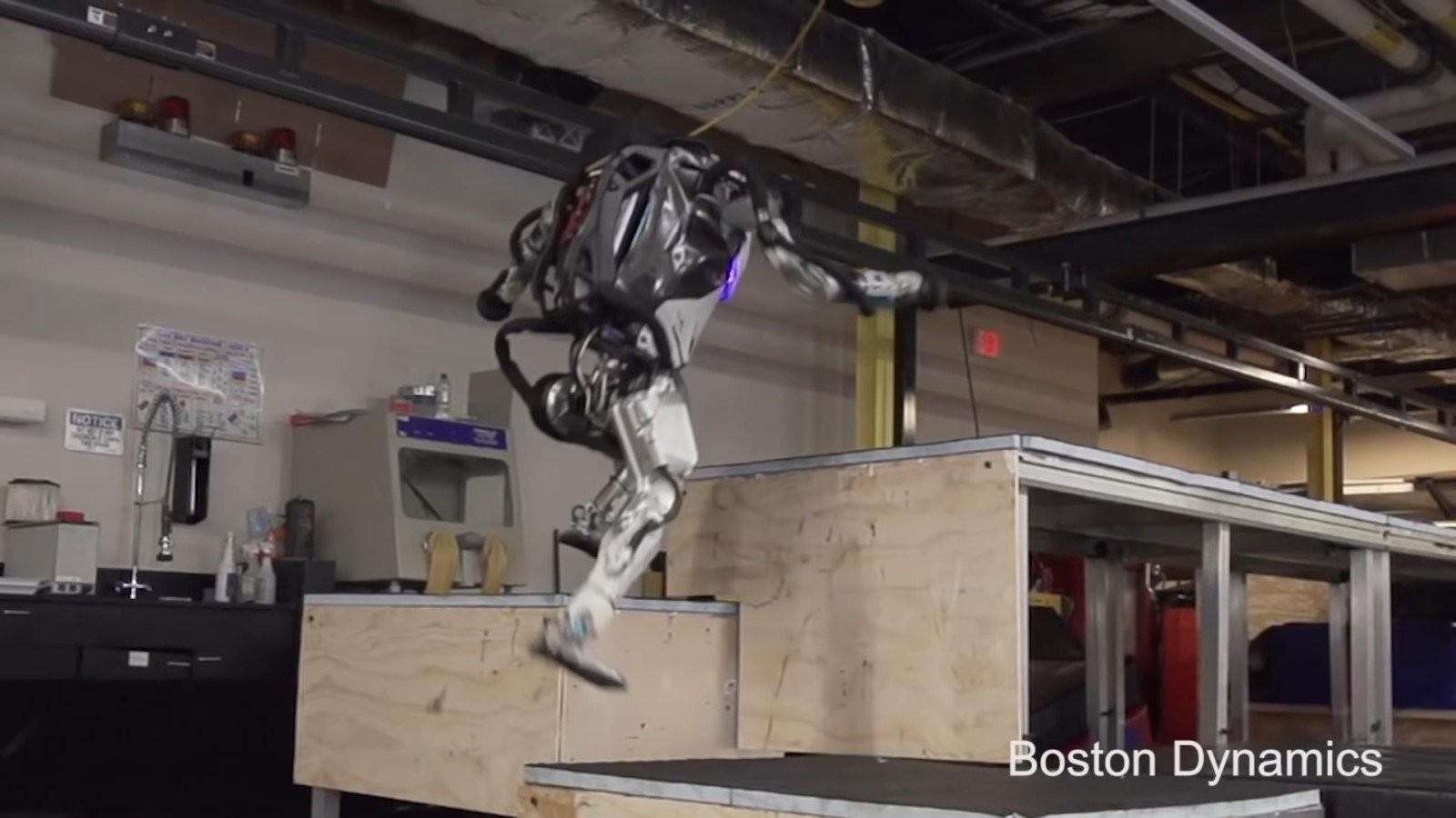 Atlas Boston Dynamics (Foto: divulgação )
