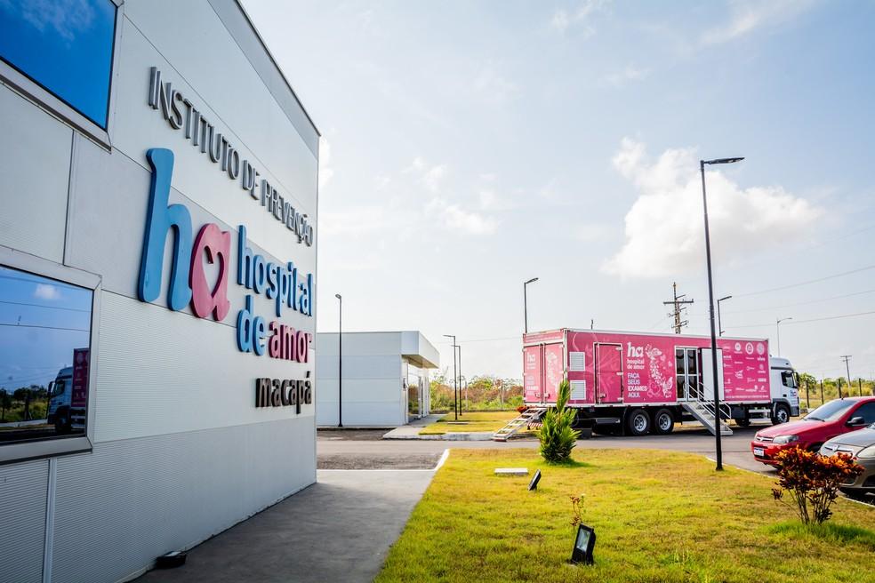 Carreta do Hospital de Amor retorna com atendimentos no interior do estado — Foto: Maksuel Martins/Divulgação