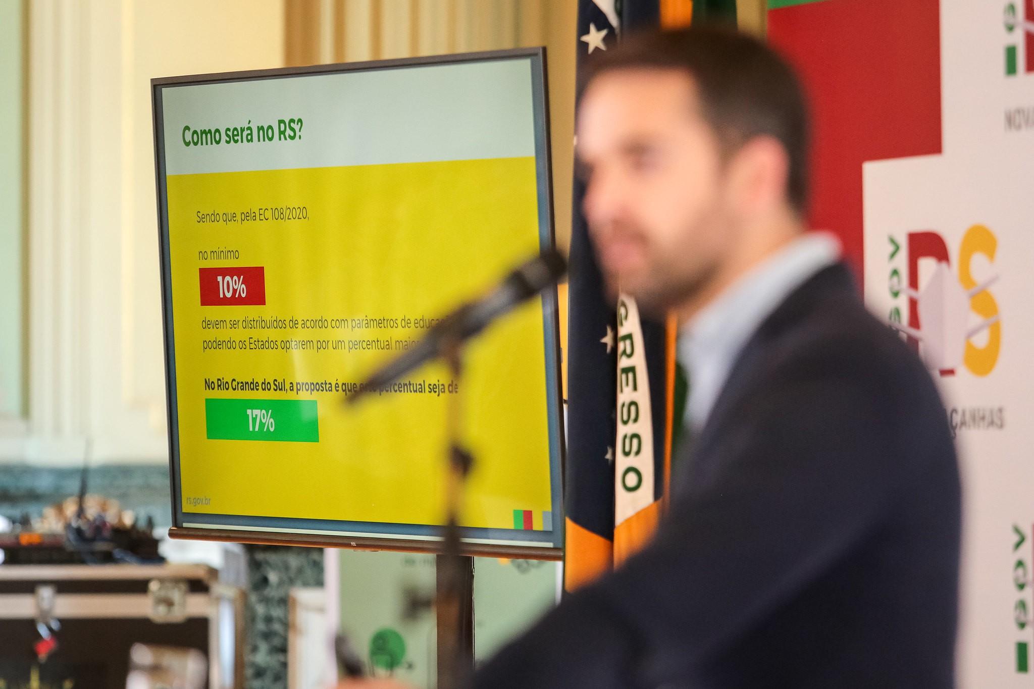 Governo do RS propõe incorporar desempenho em educação na divisão do ICMS dos municípios