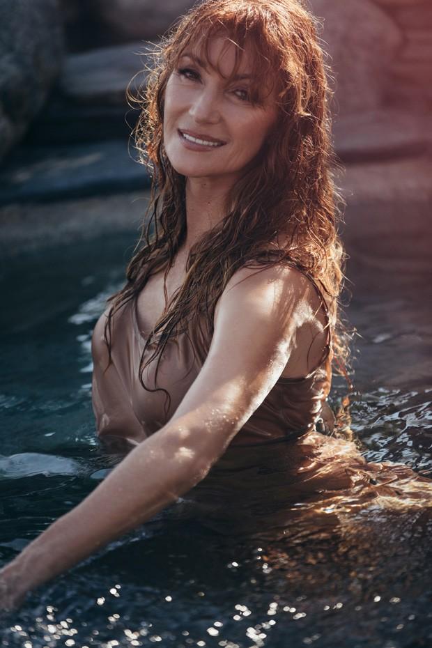 Jane Seymour (Foto: Divulgação/Playboy)