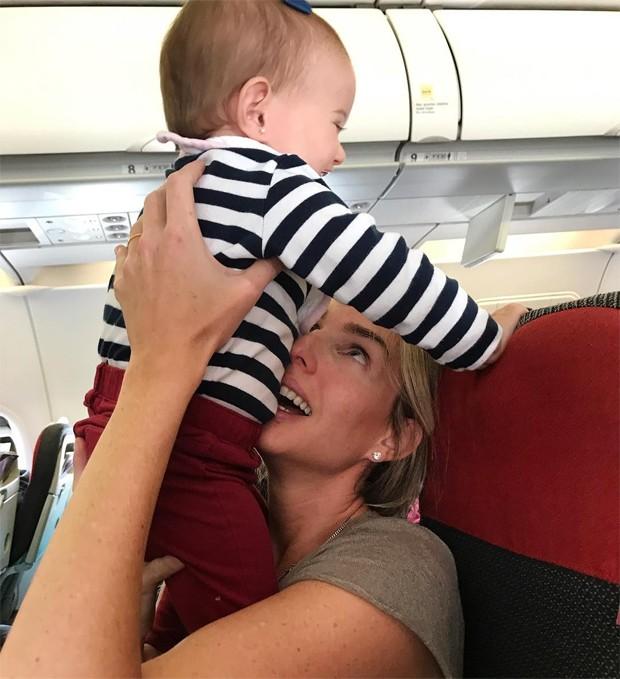 Mariana Weickert e a filha, Thereza (Foto: Reprodução / Instagram)