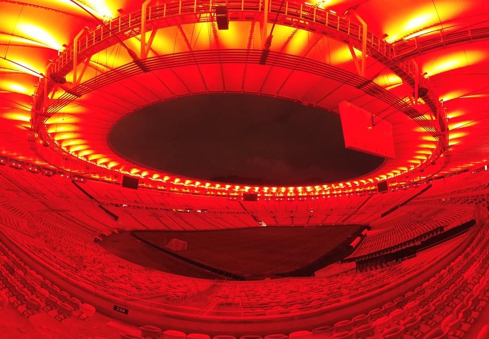 Maracanã terá evento especial no dia da final da Libertadores — Foto: Divulgação/Flamengo