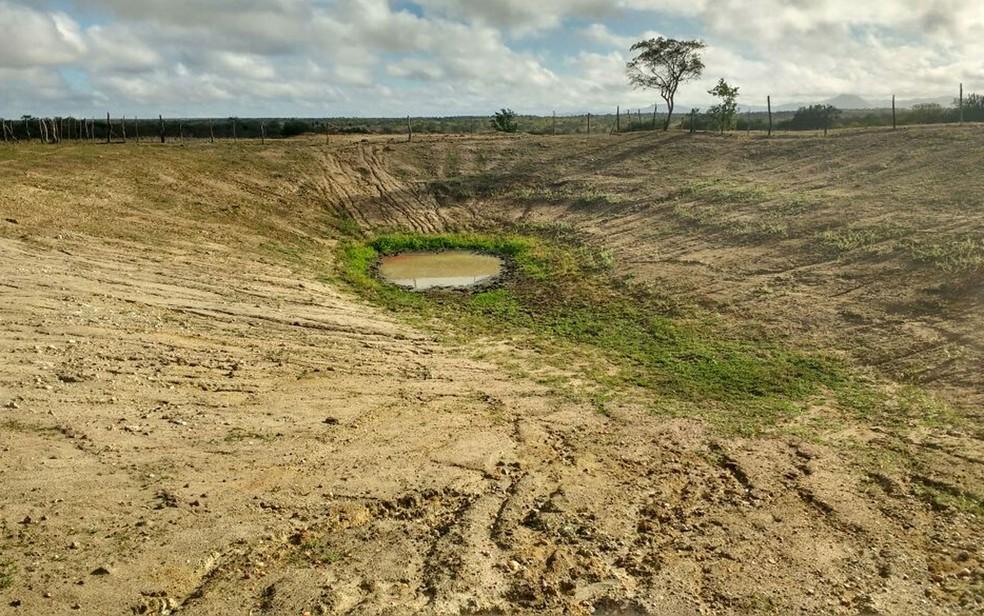 Ceará sofre com seca prologanda, o que agrava a situação da desertificação (Foto: José dos Santos/Arquivo pessoal)
