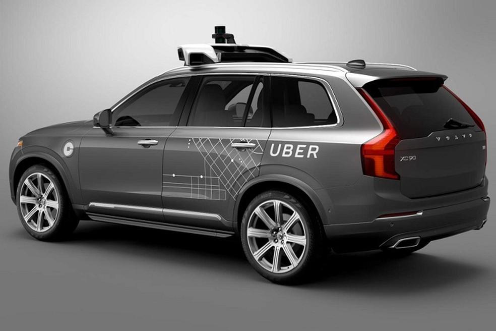 Veículo autônomo do Uber se envolveu em acidente com vítima fatal no Arizona (Foto: Divulgação/Uber)
