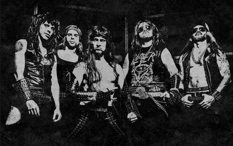 Massacration traz humor junto misturado com rock — Foto: Divulgação