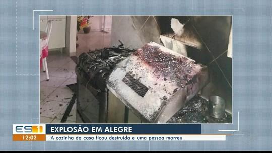Homem morre depois de cozinha pegar fogo em Alegre, no Sul do ES