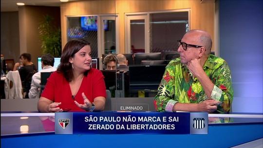 """Xico Sá vê derrota do São Paulo como trágica: """"Eu acho que supera o caso Tolima"""""""
