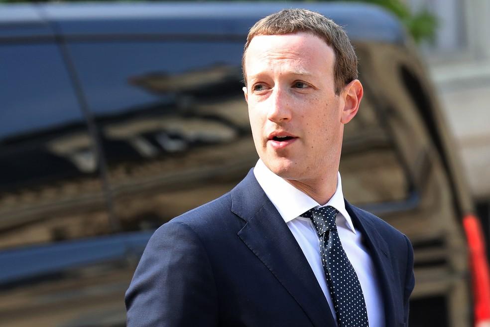 Mark Zuckerberg, presidente-executivo do Facebook. (Foto: Ludovic Marin/AFP)