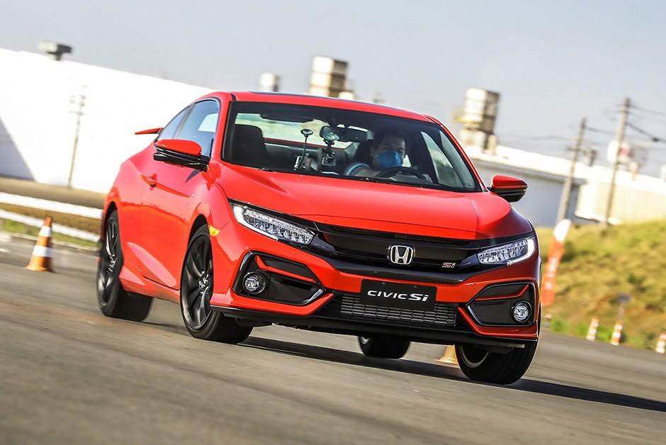 Honda Civic Si 2020 passou por leves mudanças (Foto: Divulgação)