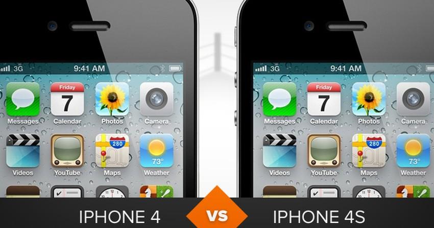 como saber qual e o meu iphone 4 ou 4s
