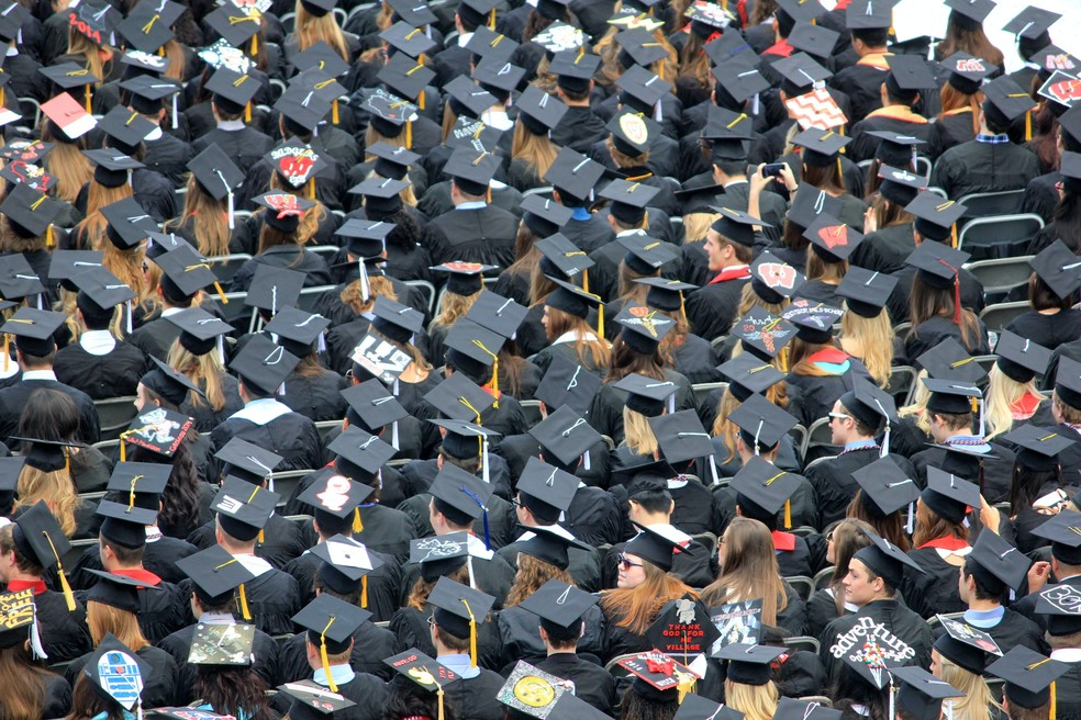 Universidade graduação ensino superior formatura — Foto: Good Free Photos/Unsplash