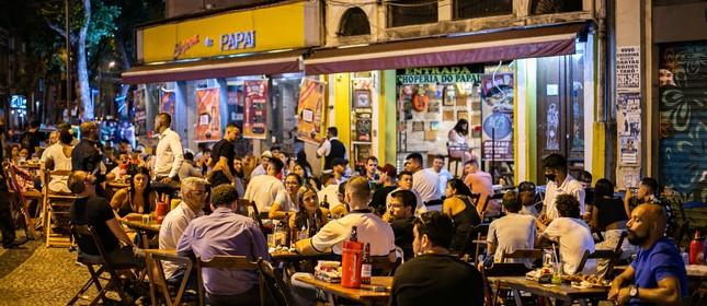 Restaurantes no Rio sofrem