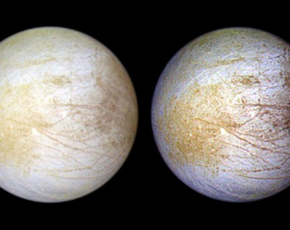 Telescópio Hubble encontra vapor de água persistente em lua de Júpiter