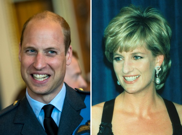 O Príncipe William e a Princesa Diana (Foto: Getty Images)