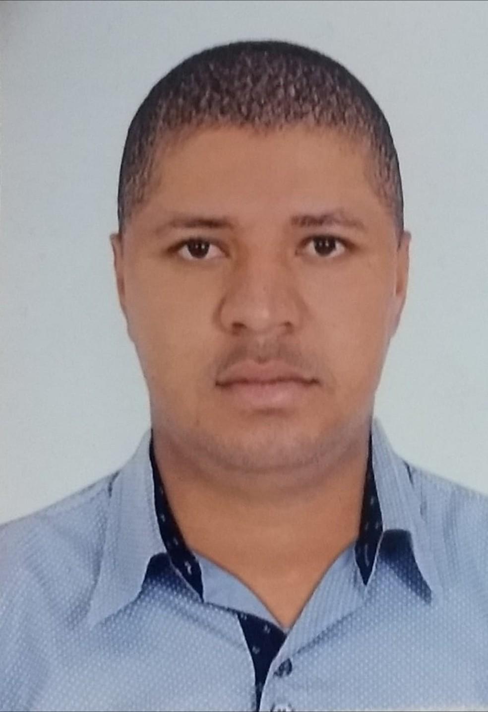 Tiago Floriano de Paula mandou matar a jovem após não querer reconhecer o filho que teve com a vítima — Foto: Polícia Civil de Jaciara