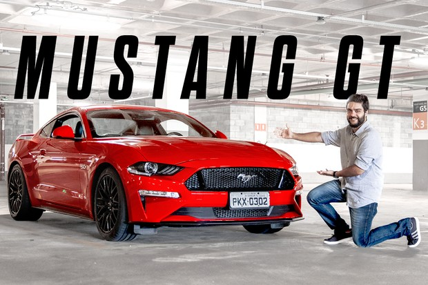 Vídeo: Ford Mustang GT (Foto: Marcos Camargo / Autoesporte)
