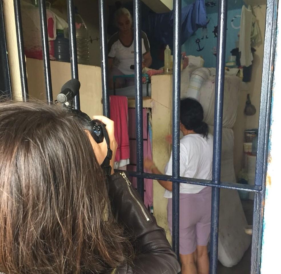 Documentário ainda está sendo gravado e deve ser concluído até agosto (Foto: Ana Calline/Arquivo Pessoal)