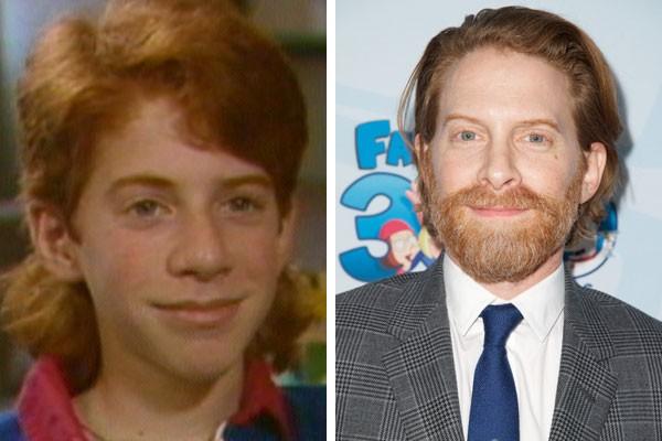 O ator Seth Green na adolescência e hoje (Foto: Reprodução/Getty Images)