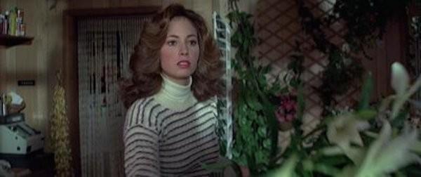 A atriz e modelo Robbin Young em cena de 007 - Somente Para Seus Olhos (1981) (Foto: Reprodução)