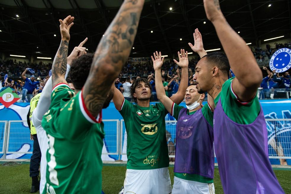 Cruzeiro venceu apenas duas partidas como mandante — Foto: Bruno Haddad