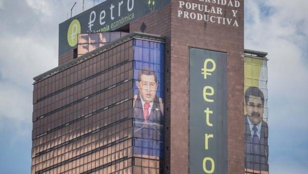 Venezuela criou sua própria criptomoneda, o petro (Foto: EPA via BBC)