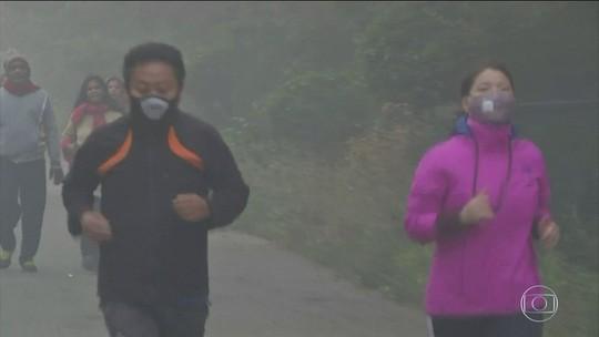 Continente asiático entra em estado de alerta por causa da poluição