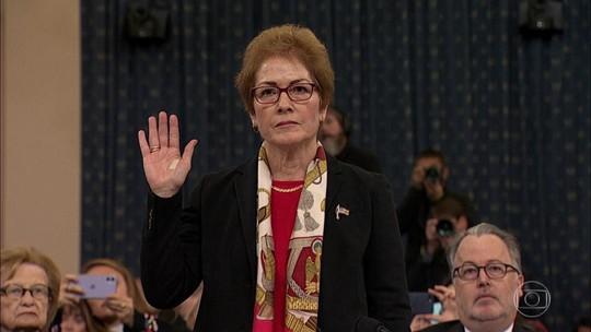 Ex-embaixadora dos EUA na Ucrânia depõe em inquérito sobre impeachment de Trump