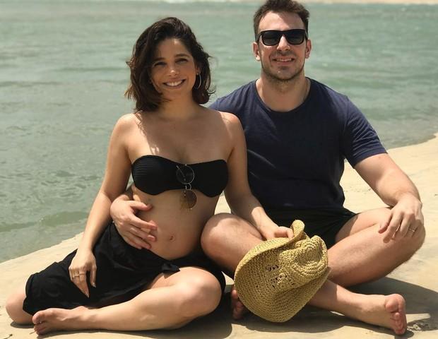 Atriz Sabrina Petraglia está grávida de 19 semanas (Foto: Reprodução Instagram)