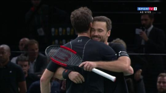 Semi brasileira em Paris! Soares e Murray vencem jogaço e pegam Melo e Kubot