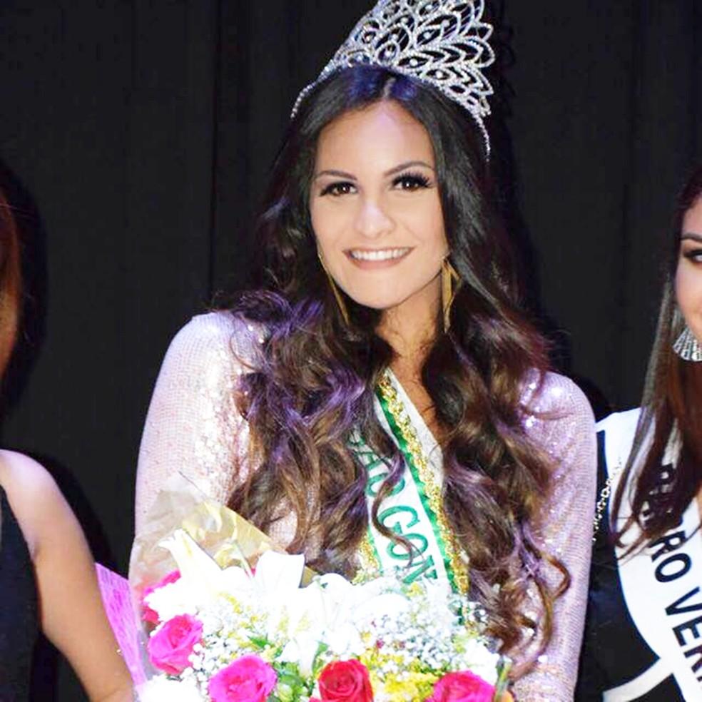 Milena Balza venceu o concurso de miss RN 2017 (Foto: Arquivo Pessoal)