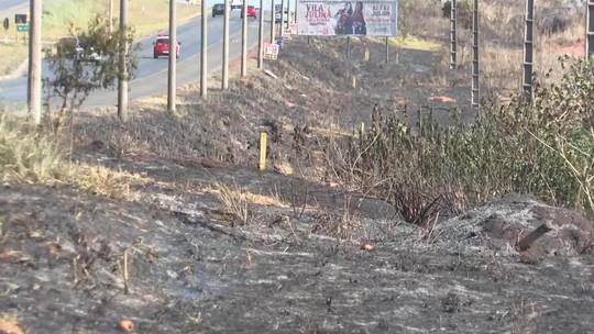 Bombeiros registram aumento de incêndios florestais no DF