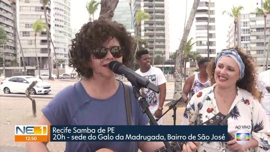 Gerlane Lops e Roberta Sá se apresentam no Recife
