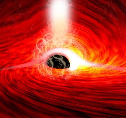 Confirmando Einstein, luz é detectada por trás de buraco negro pela 1ª vez