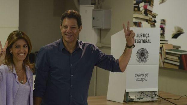Haddad pode ser principal liderança de esquerda, diz professora (Foto: Rovena Rosa/Agência Brasil via BBC News Brasil)