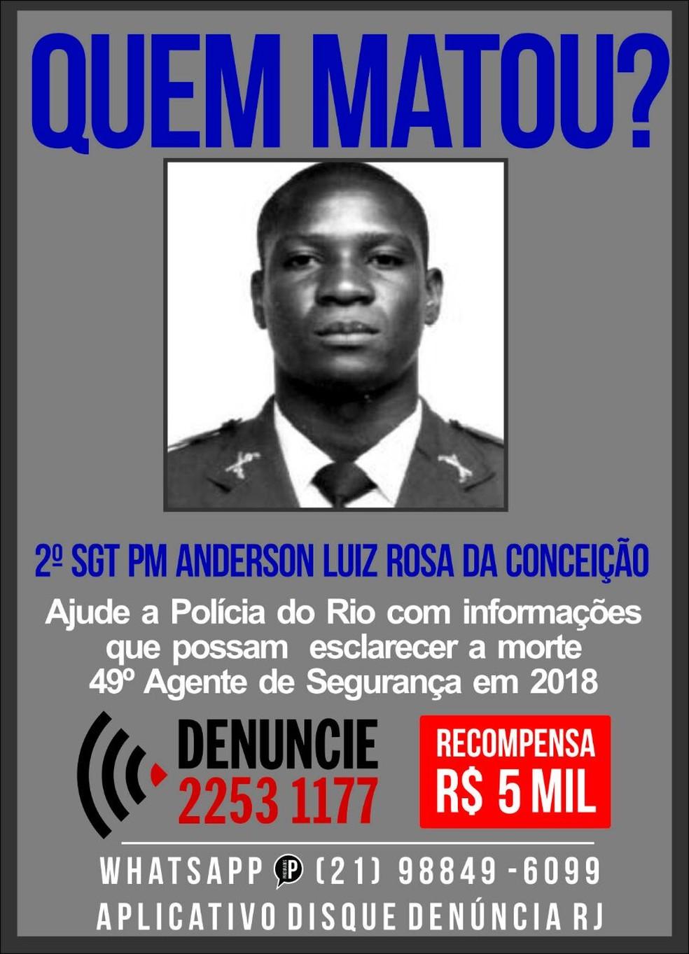 Portal oferece R$ 5 mil por informações  (Foto: Divulgação)