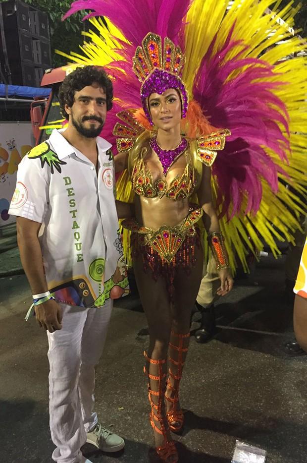 Thaila Ayala e Renato Goes (Foto: QUEM)