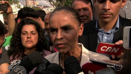 Marina Silva (REDE) faz campanha em São Paulo
