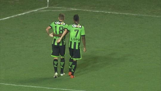Veja os gols de América-MG 2 x 0 Caldense pelo Campeonato Mineiro