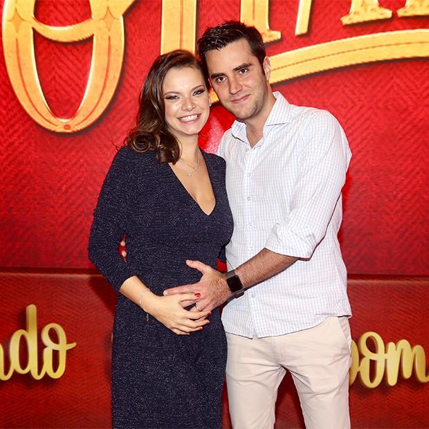 Milena Toscano e Pedro Ozores (Foto: Manuela Scarpa/Brazil News)