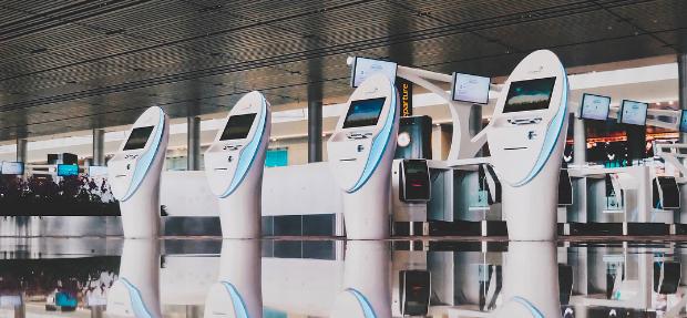 Autoatendimento no Aeroporto Changi (Foto: Reprodução/Instagram)