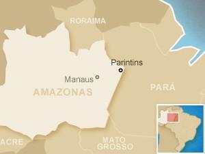 Parintins (Foto: Arte/G1)