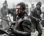 Kit Harington, o Jon Snow, numa sequência de 'Game of thrones' | Helen Sloan/HBO /AP