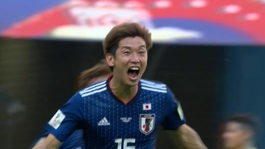 Colômbia x Japão - Copa do Mundo 2018 - globoesporte.com