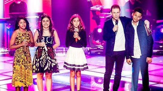 Robert Lucas e Luna Bandeira passam para a próxima fase do 'The Voice Kids'