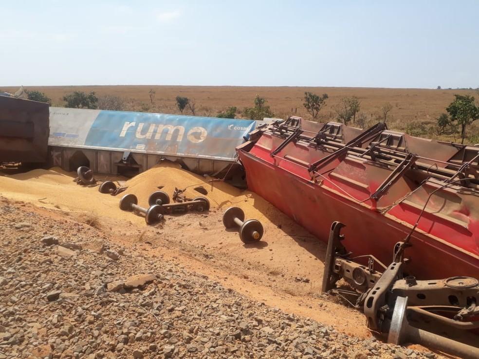 Ainda não há informações sobre o motivo do acidente. — Foto: Divulgação