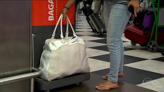 Novas regras para bagagem em aviões fazem dobrar reclamações