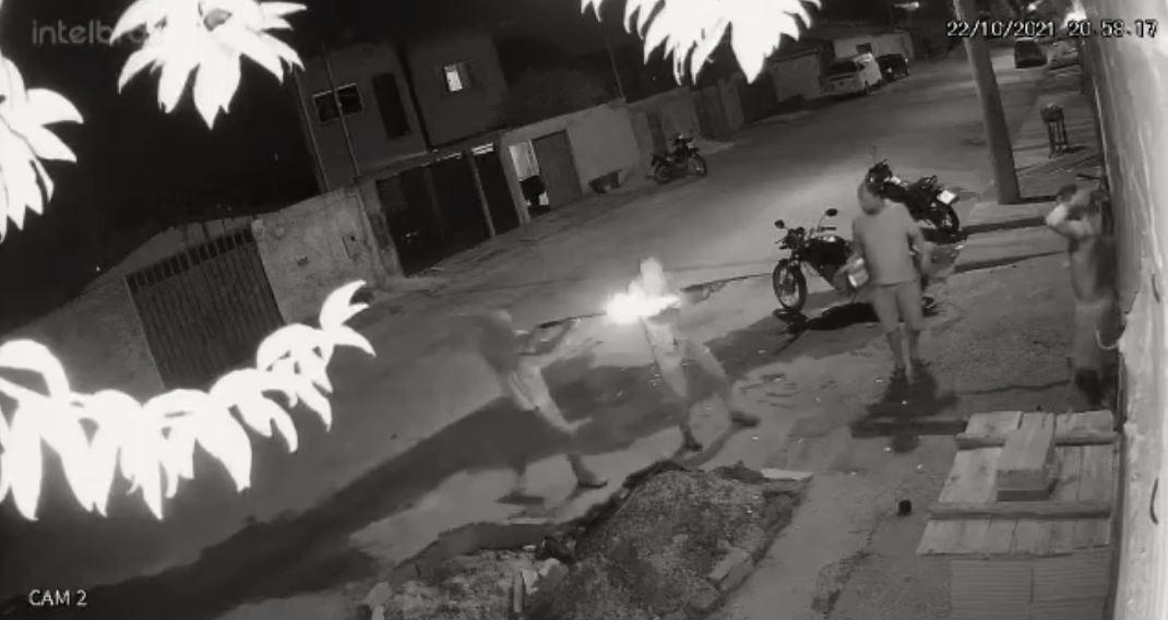 Homem é executado na porta de casa em Paraopeba; VÍDEO